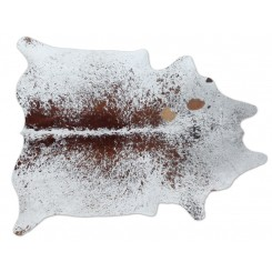 Brown Freckles Cowhide Rug